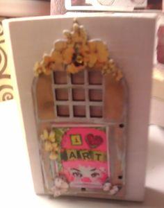 Love art trinket box