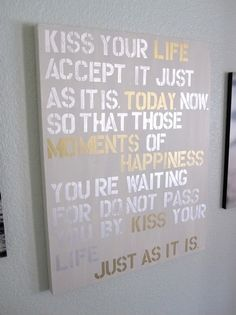 #Canvas #Wall #Quote love it!!