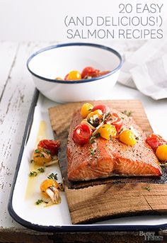 Get some of our favorite salmon recipes here: http://www.bhg.com/recipes/fish/salmon-tuna/salmon-recipes/?socsrc=bhgpin100814salmonrecipes