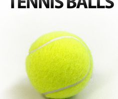10 Unusual Uses for Tennis Balls