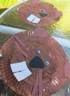 Beaver Paper Plate Craft