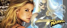 As Ms. Marvel?