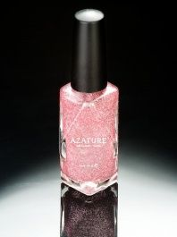 Azature  -  Black Diamond Nail Polish - Pink