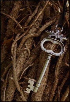 old keys, heart, skeleton key, crown key, lock, door, enchant, fairytal, thing