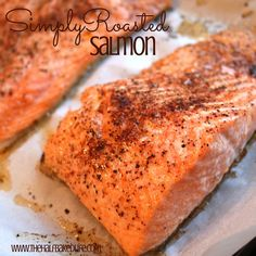This simple salmon i