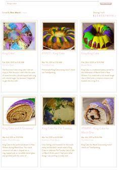 Kings Cakes Recipes - Mardi Gras