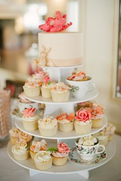 Equestrian California Wedding From Pictilio Photography. I like the use of the teacups in this design.