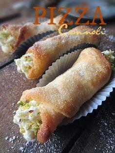italian, appet, pizza cannoli, brooklyn ragazza, food, pizzas, sicilian pizza, recip, pizzacannoli