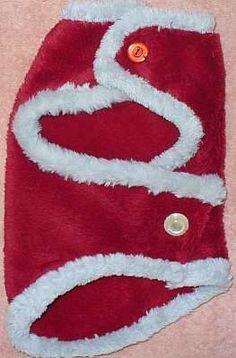 free dog, dog cloth, santa dog, christma coat, coat pattern, dog coats