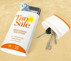 Tansafe - To Keep Your Valueables At The Beach @Luuux