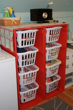 Laundry Basket Dressers 4 tall | Do It Yourself Home Projects from Ana White