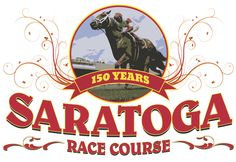 Conceptual artwork for a Saratoga Race Course t-shirt.