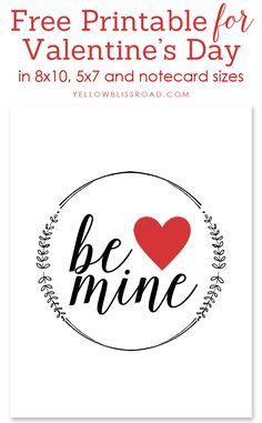 Be Mine Valentine Pr
