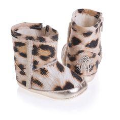 Leopard Print Booties | Roberto Cavalli