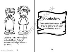 Columbus Mini-Biography Booklet and Activities Unit from Mrs. Hansen's Helpfuls on TeachersNotebook.com -  (28 pages)  - Biographical booklet on Columbus with vocabulary pages and sequencing, comprehension questions, and mapping skills activities. For grades 2-5.