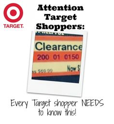 Every Target shopper should pin this so you can save the info for later:  If the price ends in 8, it will be marked down again It the price ends in 4, it is the lowest it will be Targets Markdown Schedule: Monday: Kids Clothes, Stationary, Electronics, Tuesday: Womens Clothing Domestics Wednesday: Mens Clothing, Toys, Health & Beauty Thursday: Lingerie, Shoes, Housewares Friday: Cosmetics