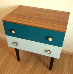 Vintage Retro 70s Schreiber Chest of Drawers