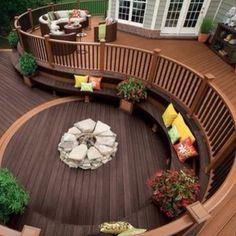 Beautiful deck.