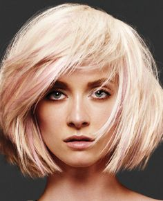 Blonde and Pink - for a bit more adventurous color!