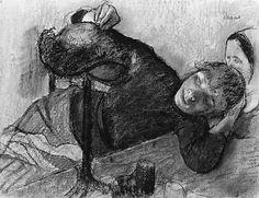 The Milliner  Edgar Degas  (French, Paris 1834–1917 Paris)