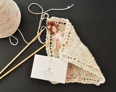 How to Knit a Dishcloth::{for the beginner}