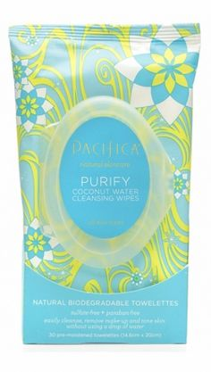 Purify Coconut Water Cleansing Wipes | Pacifica Perfume