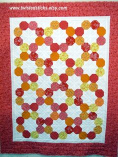 QUILTED OCTAGON TABLE TOPPER PATTERN FREE Quilt Pattern