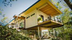 The house made of hemp