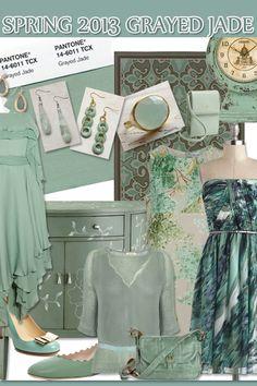 Spring Trend 2013  - Grayed Jade