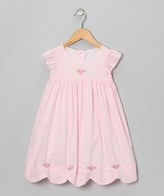 Take a look at this Pink Rose Babydoll Dress - Infant & Toddler by Fantaisie Kids on #zulily today!