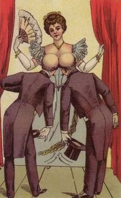 gentlemen optical illusion