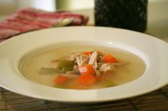 healthy chinese chicken soup