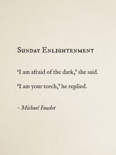 Sunday Enlightenment by Michael Faudet