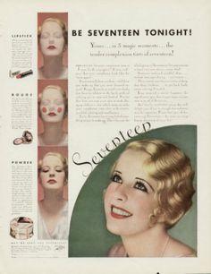 1932.  How to look seventeen.  I'd rather look eighteen, like Nancy Drew!