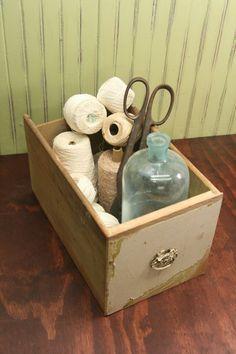 I <3 repurposed drawers!