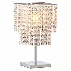 decor, table lamps, zuo modern, stars, star tabl, fall star, crystal, light, tabl lamp
