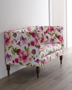 Floral Settee at Horchow.