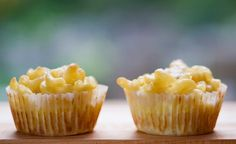 Mac 'n cheese cupcakes by thebigbiglemon