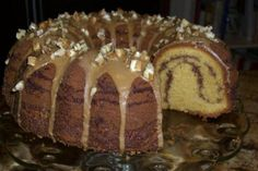 Maple Nut Coffee Cake