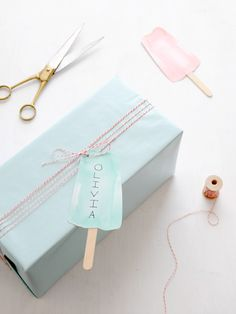 Lolly tags by Creature Comforts