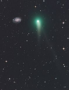 Comet C/2012 K1 And NGC 3726  Taken by Gerald Rhemann on May 20, 2014 @ Eichgraben, Lower Austria