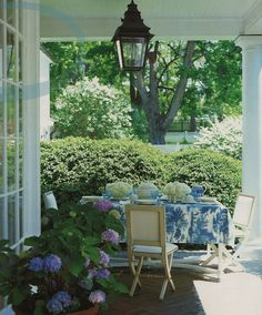 love the porch and especially the lantern.