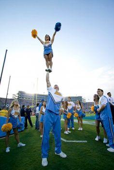 Cheerleading stunts <3