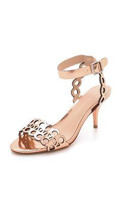 Loeffler Randall Opal Kitten Heel Sandals