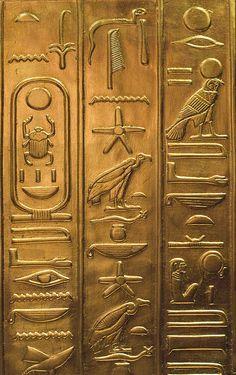 Egyptian Hieroglyphics by DaveKav, via Flickr