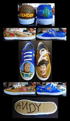 Toy Story Shoes! I love these so much!!!