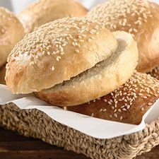 Beautiful Burger Buns: King Arthur Flour