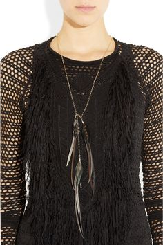 love that sweater but the necklace is nice too
