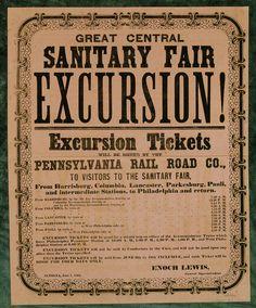 Sanitary Fair Excursion; 1864