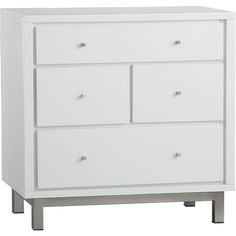 Cubix 4-Drawer Chest in Dressers, Chests | Crate and Barrel